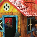 A playhouse made of love