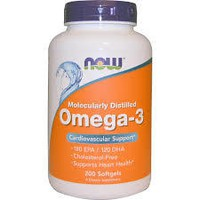 NOW OMEGA-3 1000 MG, 100 SOFTGELS