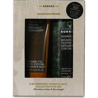 Korres Set Mountain Pepper After Shave125ml & Αφρόλουτρο 250ml
