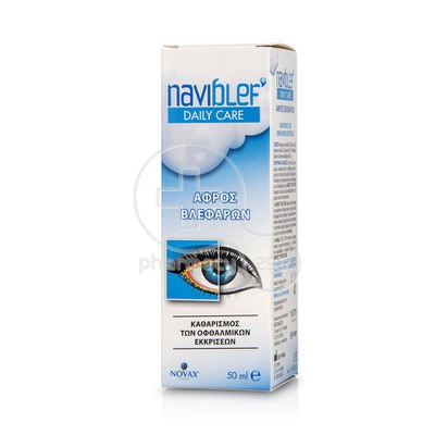 NOVAX PHARMA - NAVI BLEF Daily Care Αφρός Βλεφάρων - 50ml