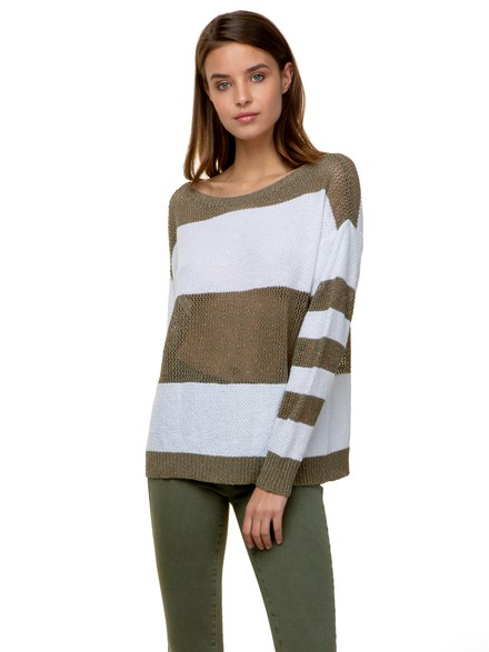 Lurex striped top