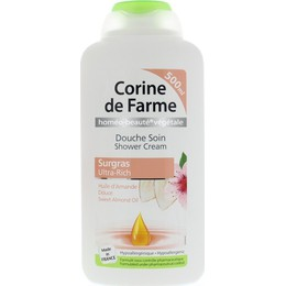 CORINE DE FARME - ULTRA RICH SWEET ALMOLD OIL SHOWER CREAM 500 ml
