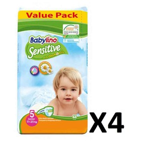 BABYLINO SENSITIVE JUNIOR N5 11-25kg 176 (=4x44) ΤΕΜΑΧΙΑ