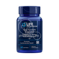LIFE EXTENSION - Super-Absorbable CoQ10 100mg with d-Limonene - 60softgels