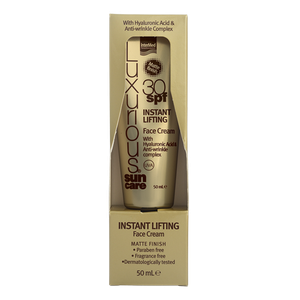 LUXURIOUS Instant lifting face cream Spf30 50ml