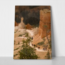 Bryce canyon tilt shift 78419245 a