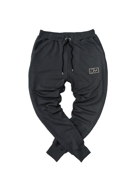 CLVSE SOCIETY ANTHRACITE PATCH PANTS