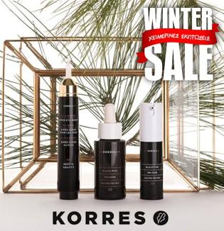 Korres winter sale