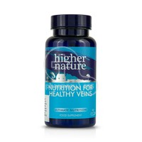 HIGHER NATURE - Nutrition for Healthy Veins - 90caps