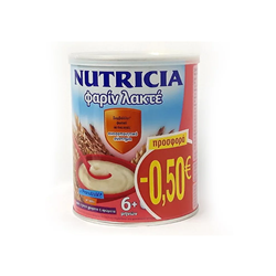 Nutricia Almiron Φαρίν Λακτέ Προσφορά -0.50€ Βρεφική Κρέμα Από Τον 6ο Μήνα 300gr