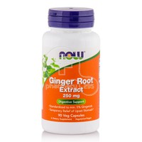 NOW - Ginger Root Extract 250mg - 90caps