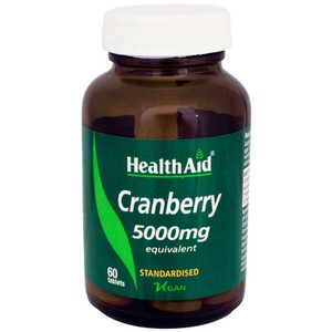 Health aid cranberry 5000mg