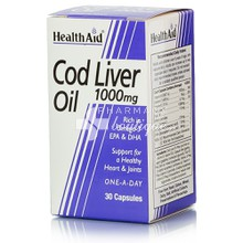 Health Aid COD LIVER OIL 1000mg, 30veg. caps