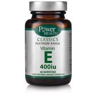 POWER HEALTH CLASSICS PLATINUM VITAMIN E 400IU 30CAPS