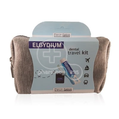 ELGYDIUM - Dental Travel Kit (γκρι νεσεσερ)