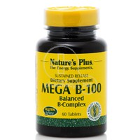 NATURE'S PLUS - MEGA B100 Balanced B-Complex - 60tabs