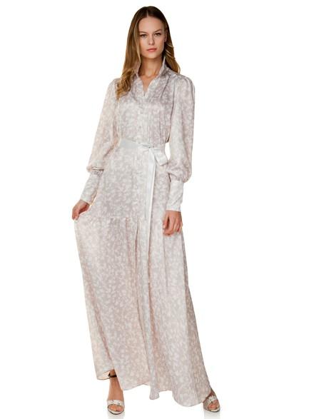 Φλοράλ σεμιζιέ φόρεμα a8ee3c20c57