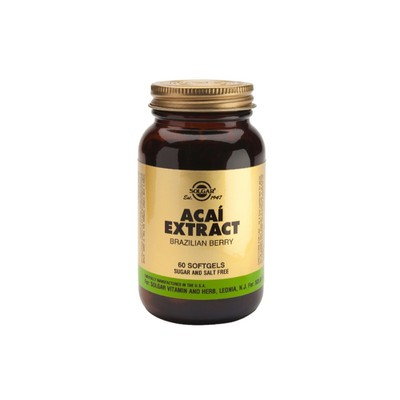 Solgar - Acai Extract - 60softgels