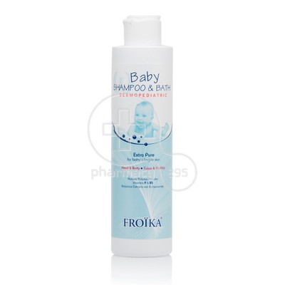 FROIKA - DERMOPEDIATRIC Baby Shampoo & Bath - 200ml