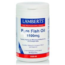 Lamberts PURE FISH OIL 1100 mg (Ω3), 60 caps