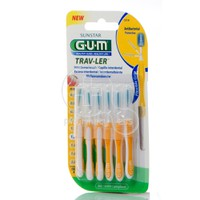 GUM - Trav-Ler Interdental Brush 1514 (1,3mm) - 6brushes