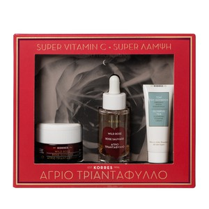 Korres agrio triantafyllo night cream set