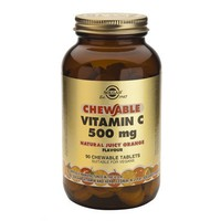 SOLGAR VITAMIN C 500MG 90CHEW. TABL (ORANGE)