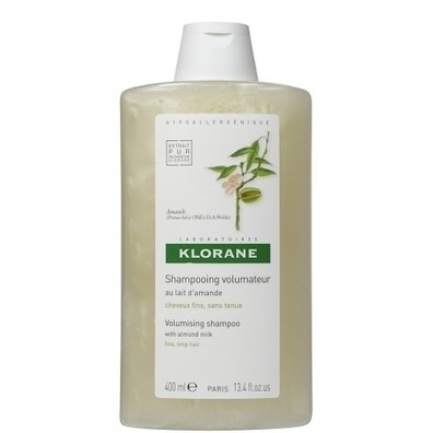 Klorane shampoo with almond  milk 400ml