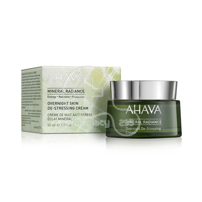 AHAVA - MINERAL RADIANCE Overnight Skin De-Stressing Cream - 50ml