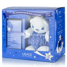 Uriage Σετ Bebe 1st Scented Water 100ml & Αρκουδάκι - Νερό περιποίησης με φρέσκο και λεπτό άρωμα