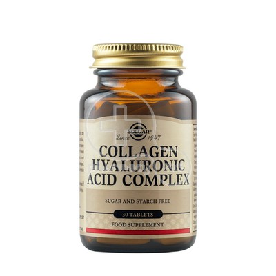 SOLGAR - Collagen Hyaluronic Acid Complex - 30tabs