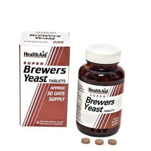 Health aid brewers yeast 500s