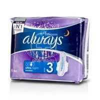ALWAYS - PLATINUM Ultra Night Size 3 -  6τεμ.