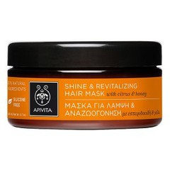 Apivita Shine & Revitalizing Hair Mask με Εσπεριδοειδή & Μέλι 200ml