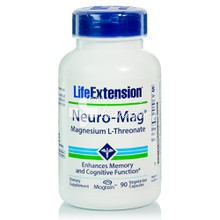 Life Extension Neuro-Mag - Μαγνήσιο, 90 v.caps