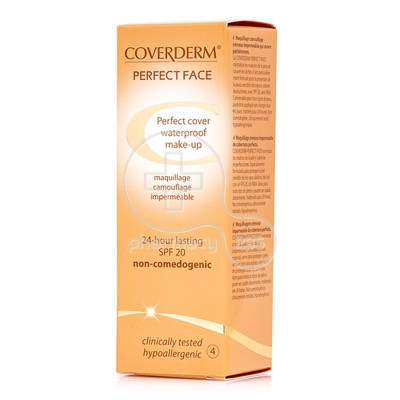 COVERDERM - PERFECT FACE SPF20 Νο4 - 30ml