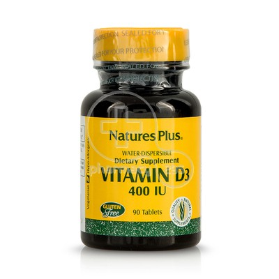 NATURE'S PLUS - Vitamin D3 400IU - 90tabs