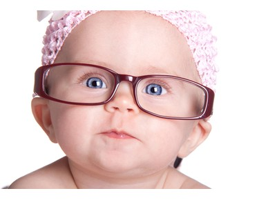 The development of baby vision