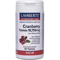 Lamberts Cranberry 18.750mg 60 Ταμπλέτες