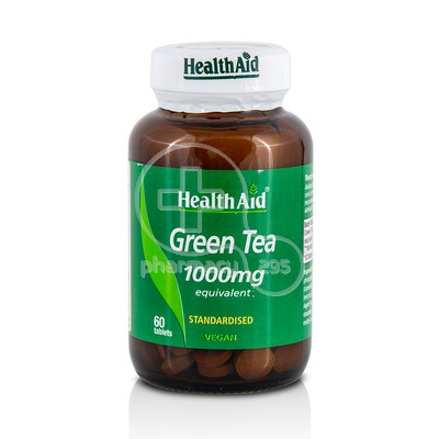 HEALTH AID - Green Tea 1000mg - 60tabs