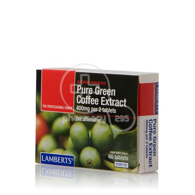 LAMBERTS - Pure Green Coffee Extract (Decaffeinated) - 60tabs