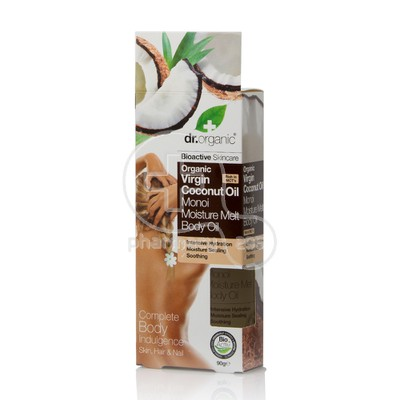 DR. ORGANIC - COCONUT OIL Moisture Melt Body Oil - 90gr