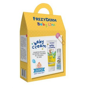 FREZYDERM Baby cream 175ml + Δώρο Baby foam 80ml