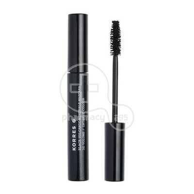KORRES - BLACK VOLCANIC MINERALS Mascara 3D VOLUME (Black) - 8ml