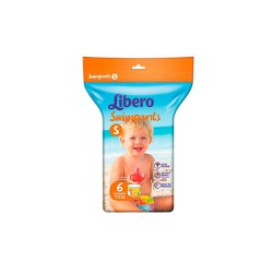 Libero Swimpants Small (7-12kg) 6 τεμάχια