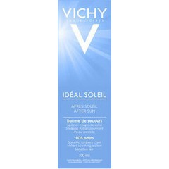 Vichy Ideal Soleil After Sun SOS Balm After Sun Γαλάκτωμα για Εγκαύματα 100ml
