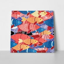 Colorful fish painting 709513363 a