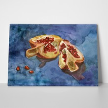 Pomegranate with red seeds 209588002 a