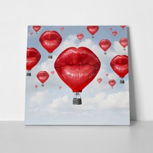 Red lips love balloons 279784718 a