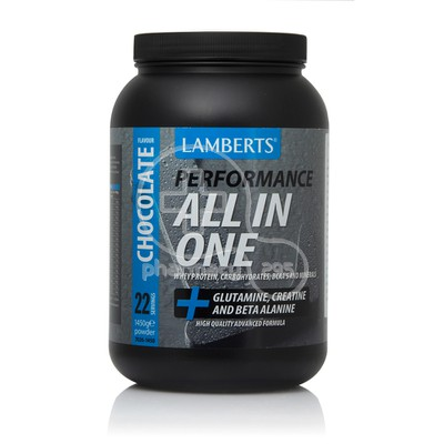 LAMBERTS - ALL IN ONE Performance Powder (Chocolate) - 1450gr